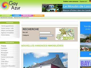 Annonces immobilier gay azur achat vente location for Site achat immobilier